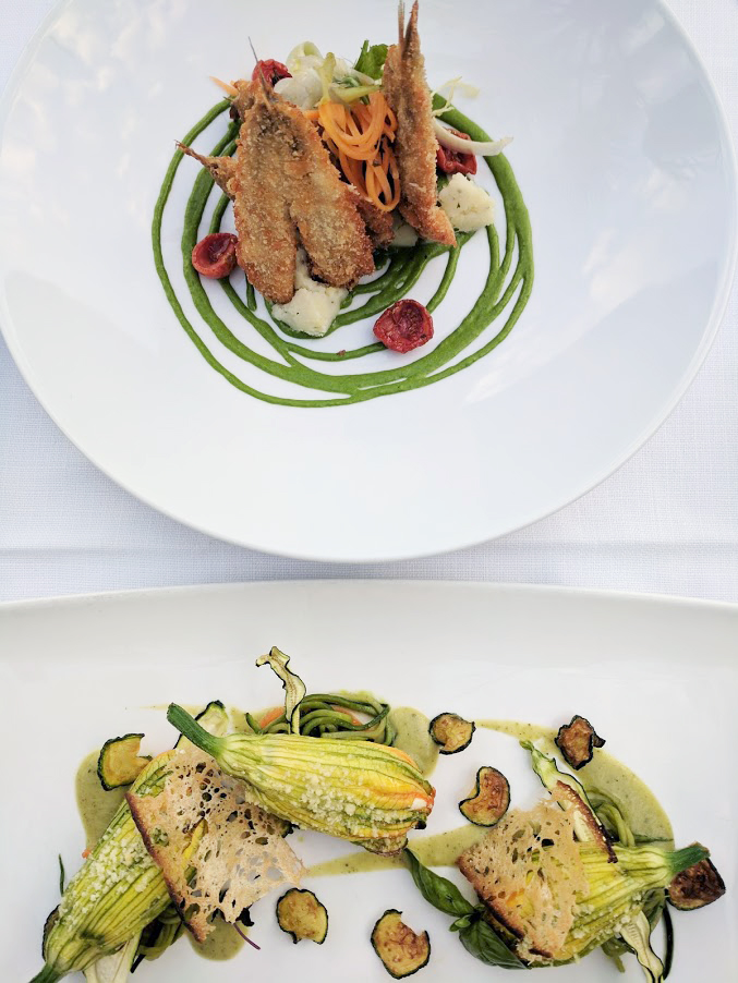 Two amazing restaurants inPositano